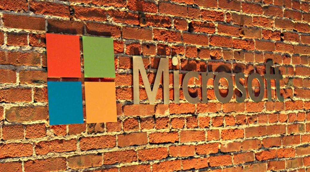Microsoft Logo Brick2