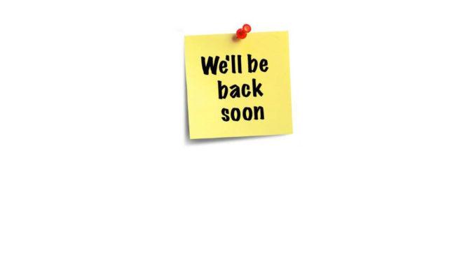 One More Week…